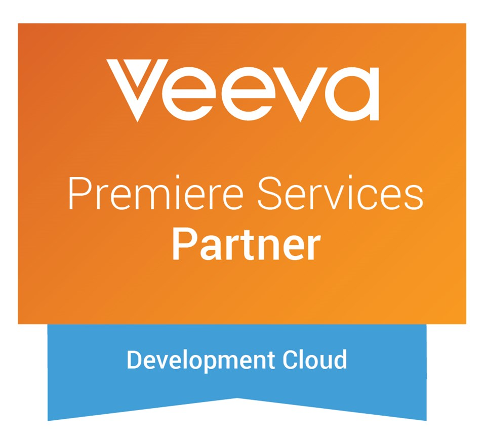 Veeva Premiere Services Partner Badge